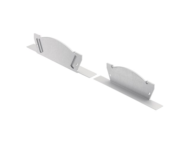 TE Pro Series Arches Center-in-Ceiling Channel End Caps