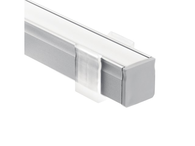 TE Standard Series 2' Kit Deep Well Surface Channel Silver