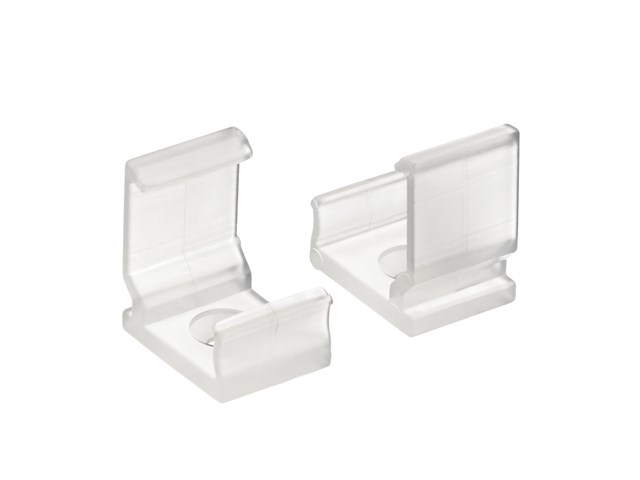 TE Enhanced Series 30 Degree SF Mounting Clips Clear