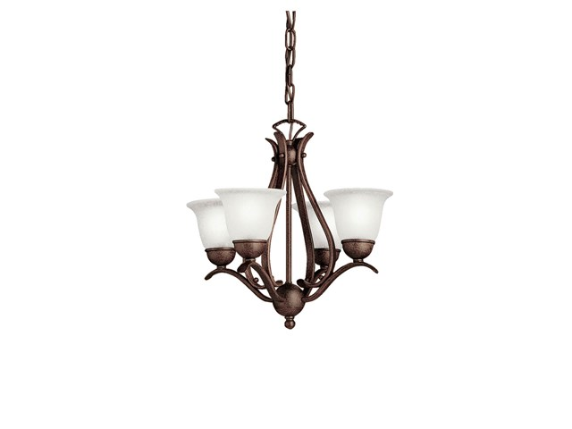 Dover 4 Light Mini Chandelier Tannery Bronze™
