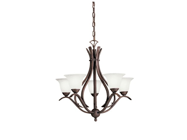 Dover 5 Light Chandelier Tannery Bronze™