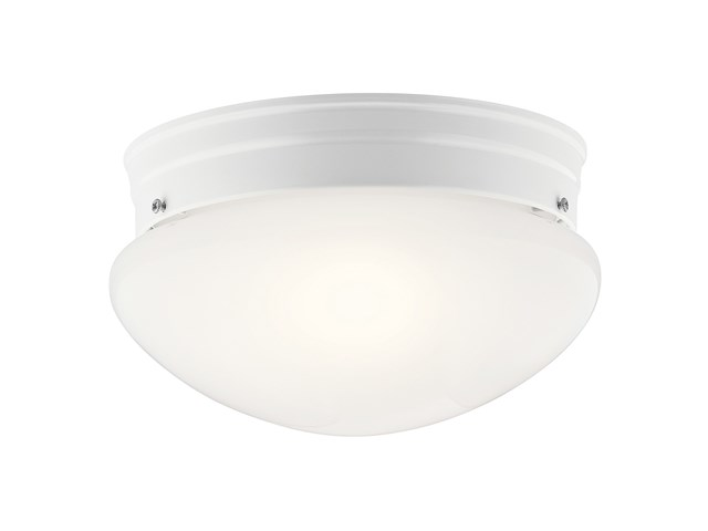 Ceiling Space 2 Light Flush Mount White