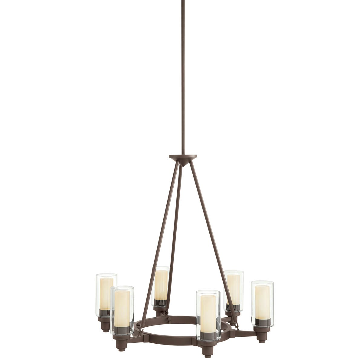 Circolo 6 Light Chandelier Olde Bronze Kichler Lighting