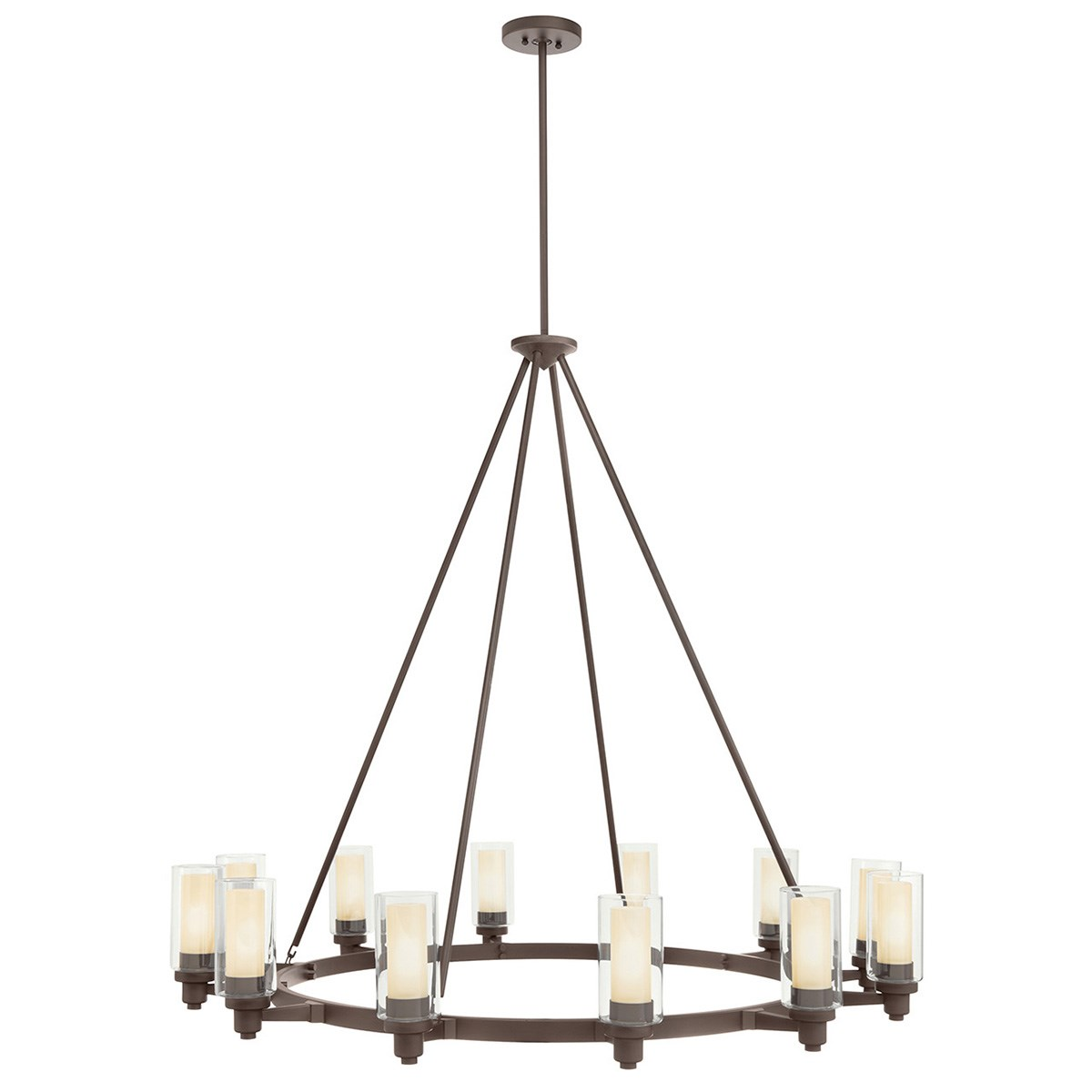 Circolo 12 Light Chandelier Olde Bronze Kichler Lighting