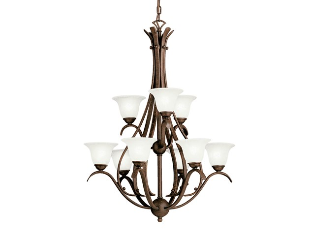 Dover 9 Light Chandelier Tannery Bronze™
