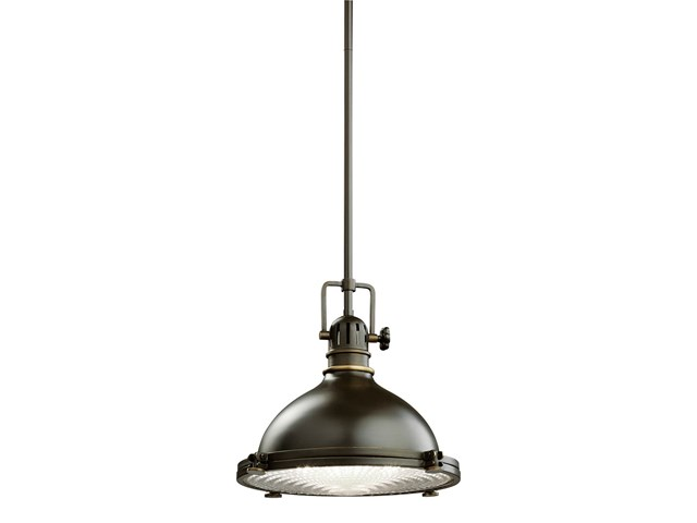 "Hatteras Bay 8"" 1 Light Pendant Olde Bronze®"