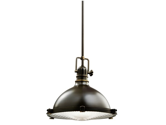 "Hatteras Bay 13"" 1 Light Pendant Olde Bronze®"