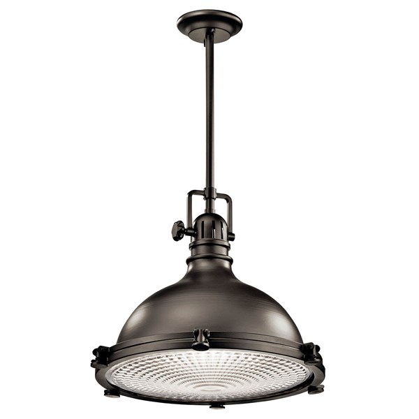 "Hatteras Bay™ 16"" 1 Light Pendant Olde Bronze®"