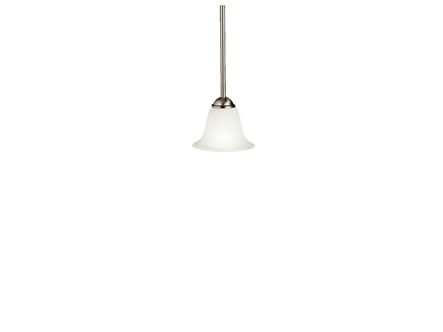 "Dover 6.5"" 1 Light Mini Pendant Brushed Nickel"