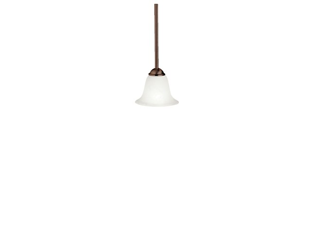 "Dover 6.5"" 1 Light Mini Pendant Tannery Bronze™"