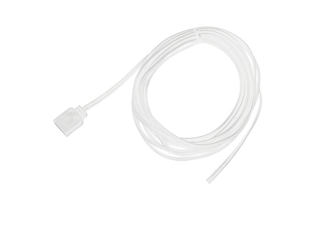 8' Damp Supply Lead (No DC) White