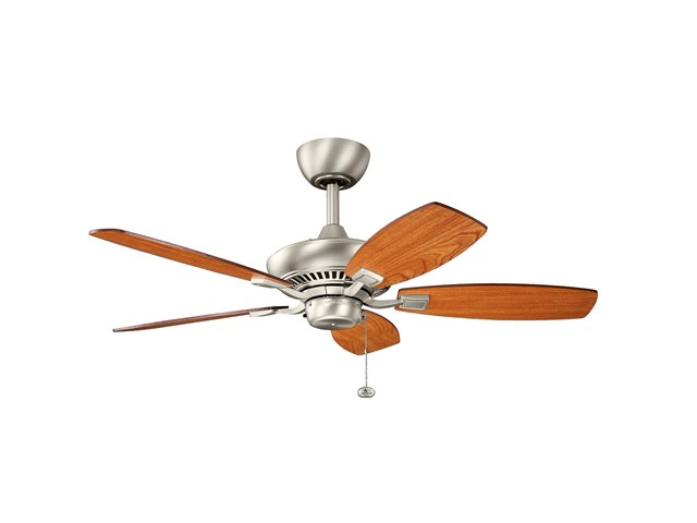 "Canfield 44"" Fan Brushed Nickel"