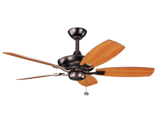 "Canfield 44"" Fan Oil Brushed Bronze"