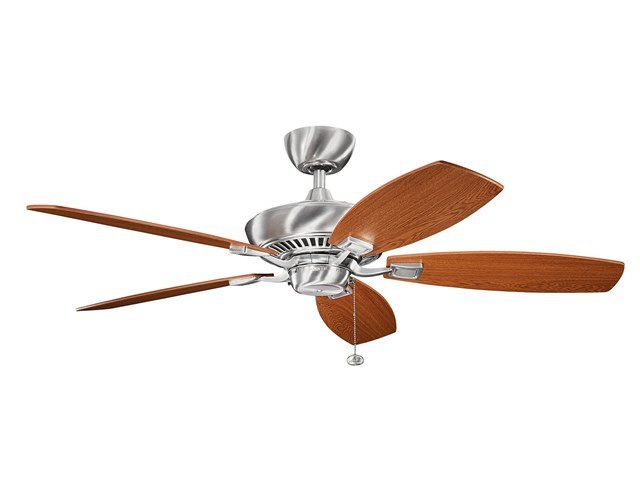 "Canfield 52"" Fan Brushed Stainless Steel"