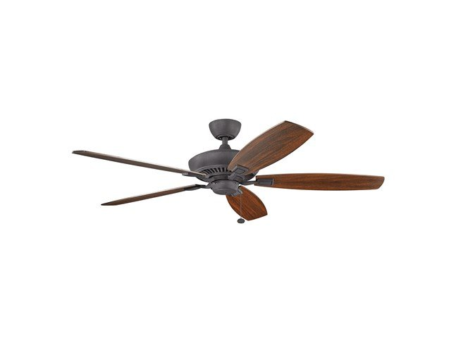 "Canfield™ XL 60"" Fan Distressed Black"