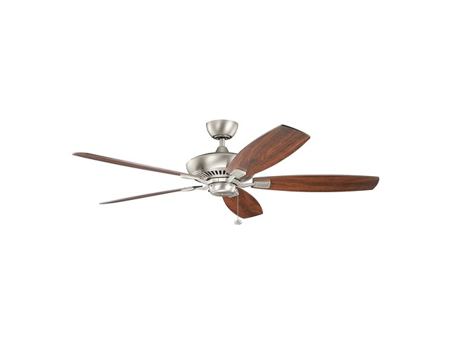"Canfield™ XL 60"" Fan Brushed Nickel"