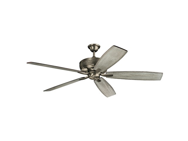 "Monarch 70"" Fan Burnished Antique Pewter"
