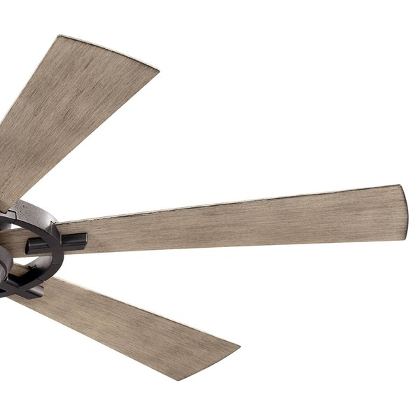 "Iras™ LED 52"" Ceiling Fan Anvil Iron"