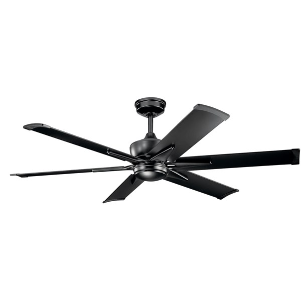 "Szeplo™ II LED 60"" Fan Satin Black"