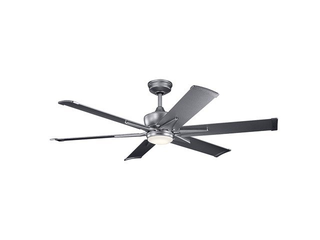"Szeplo™ II LED 60"" Fan Weathered Steel"
