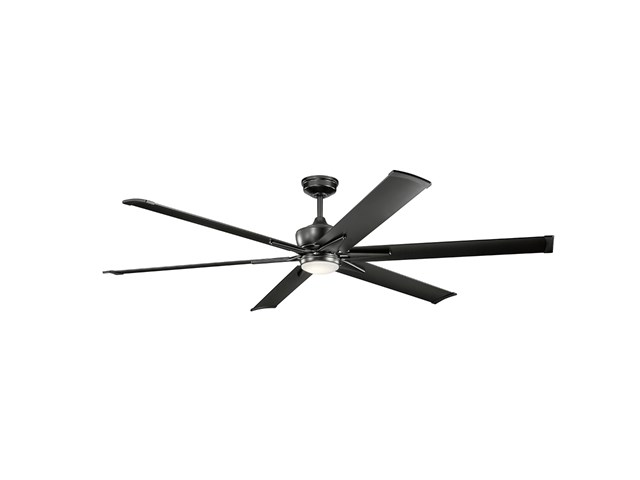 "Szeplo™ II LED 80"" Fan Satin Black"