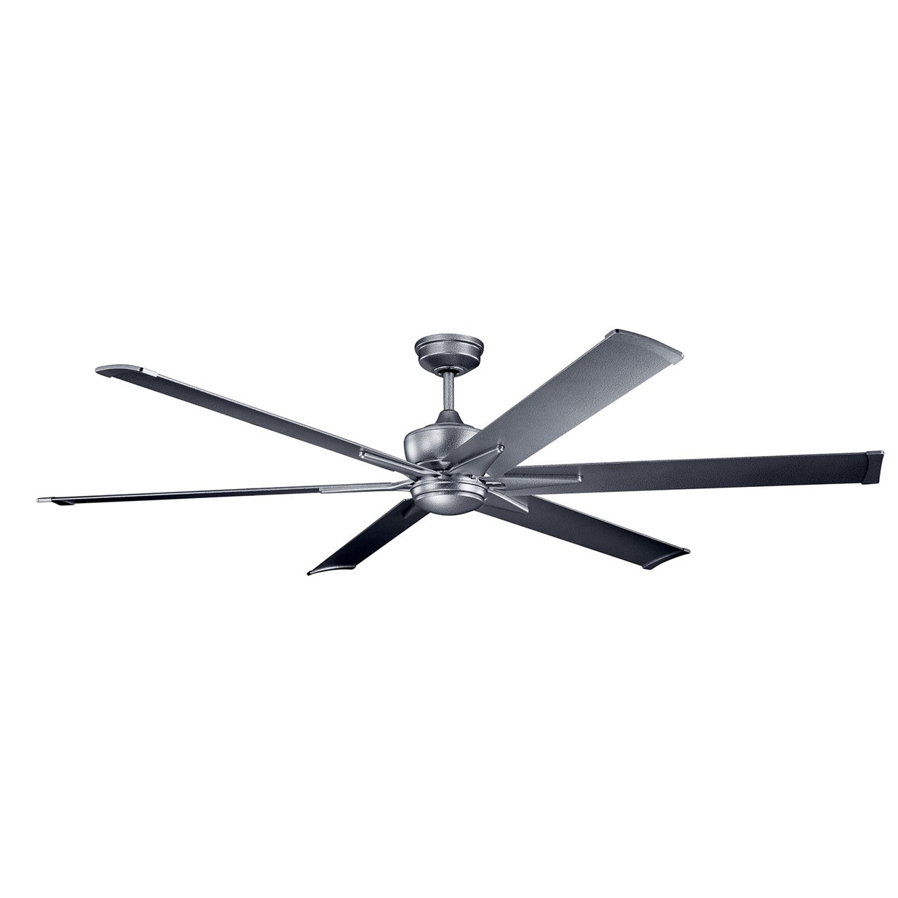 "Szeplo™ II LED 80"" Fan Weathered Steel"