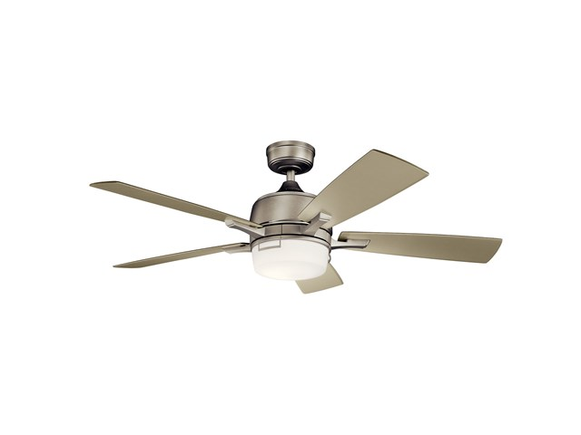 "Leeds™ LED 52"" Fan Brushed Nickel"