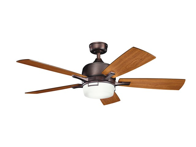 "Leeds™ LED 52"" Fan Oil Brushed Bronze"