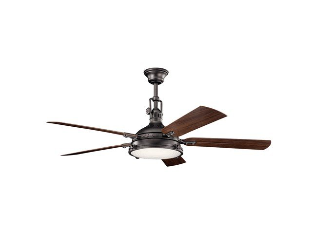 "Hatteras Bay™ LED 3000K 60"" Fan Anvil Iron"