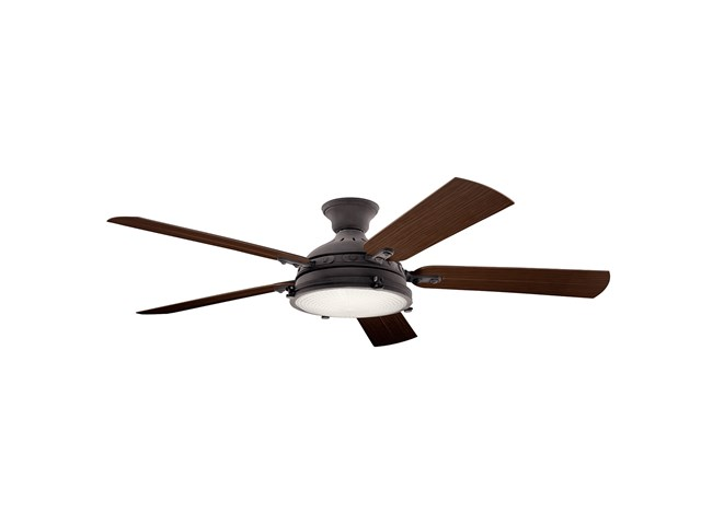 "Hatteras Bay™ LED 3000K 60"" Fan Weathered Zinc"