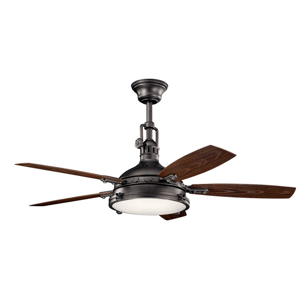 "Hatteras Bay™ LED 3000K 52"" Fan Anvil Iron"