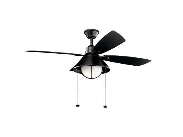 "Seaside™LED 3000K 54"" Fan Satin Black"