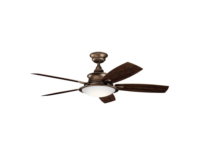 "Cameron™ LED 3000K 52"" Fan Weathered Copper"