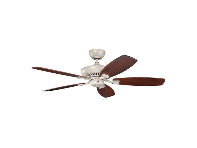 "Canfield Climates™ 52"" Fan Antique Satin Silver"