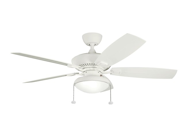 "Canfield Climates™ 52"" Fan Satin Natural White"