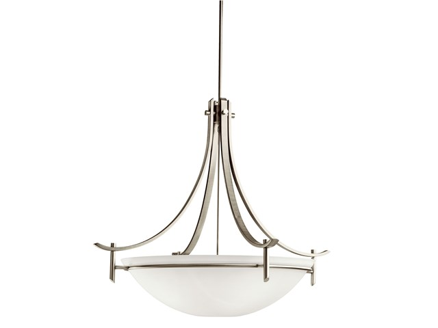 Olympia 5 Light Inverted Pendant Antique Pewter