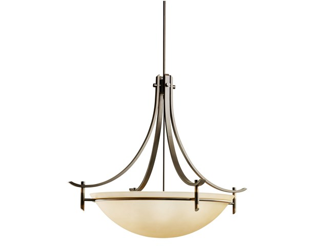 Olympia 5 Light Inverted Pendant Olde Bronze®
