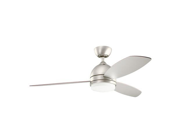 "Vassar™ LED 52"" Fan Brushed Nickel"