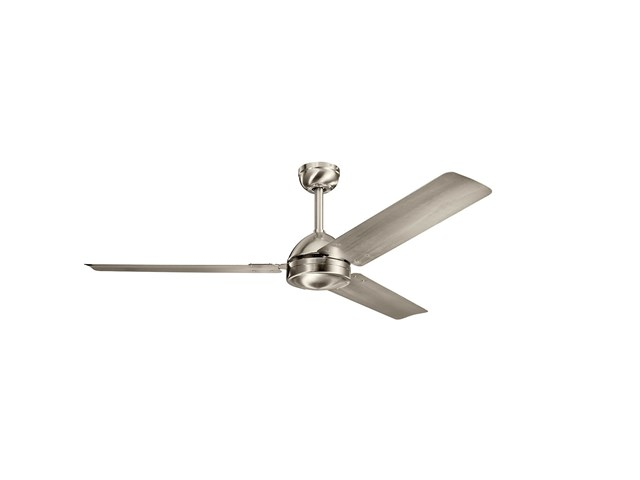"Todo 56"" Fan Brushed Stainless Steel"