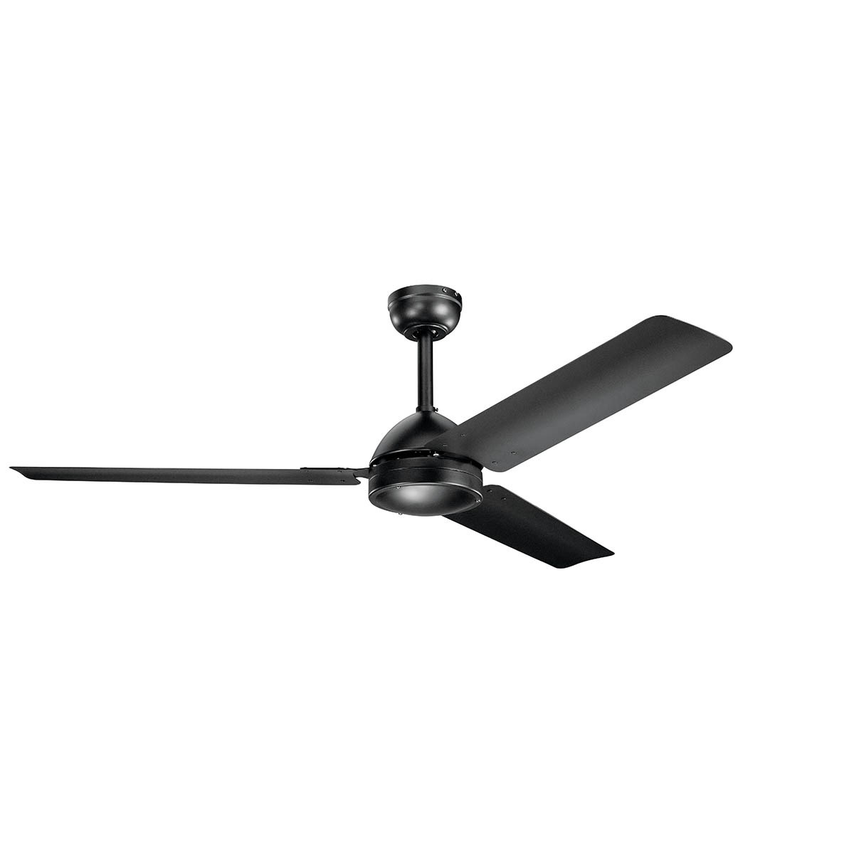 "Todo 56"" Fan Satin Black"