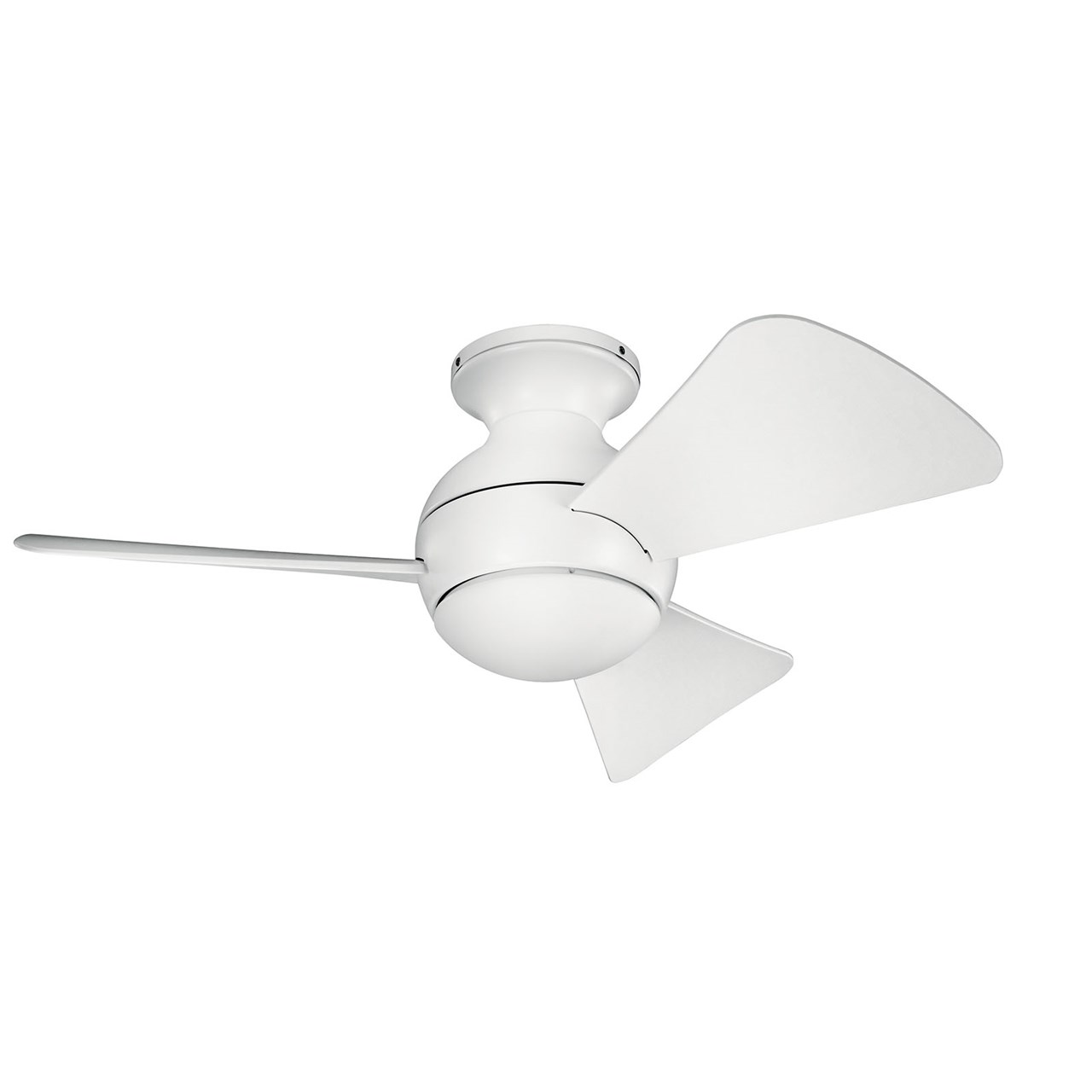 "Sola LED 34"" Fan Matte White"