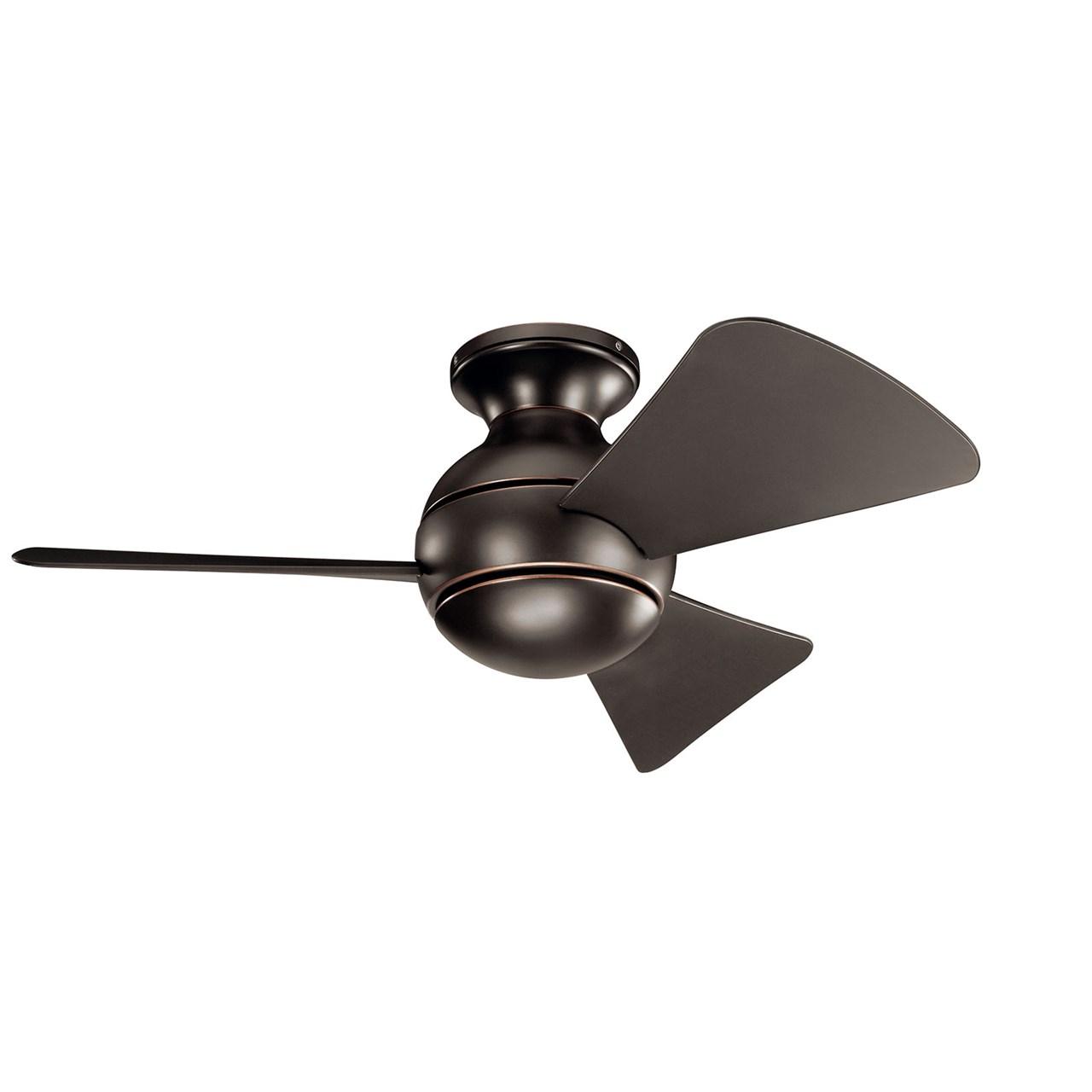 """Www Kichler: Sola LED 34"""" Fan Olde Bronze®"""