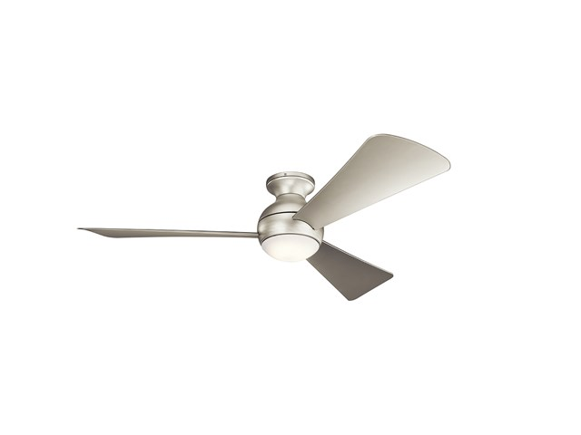 "Sola LED 54"" Fan Brushed Nickel"