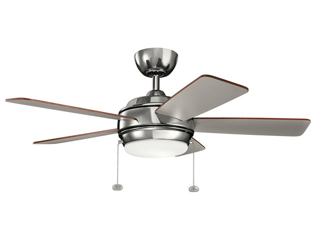 "Starkk™ LED 42"" Fan Polished Nickel™"