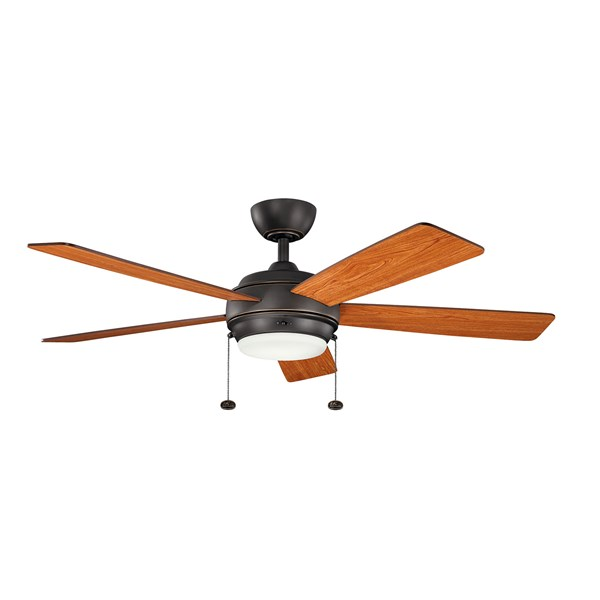 "Starkk™ LED 52"" Fan Olde Bronze®"