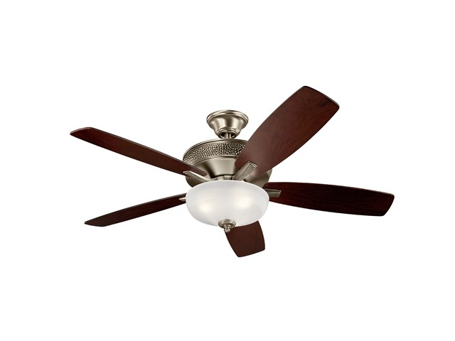 "Monarch II Select LED 52"" Fan Burnished Antique Pewter"