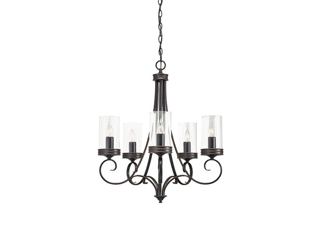 Diana 5 Light Chandelier Olde Bronze®