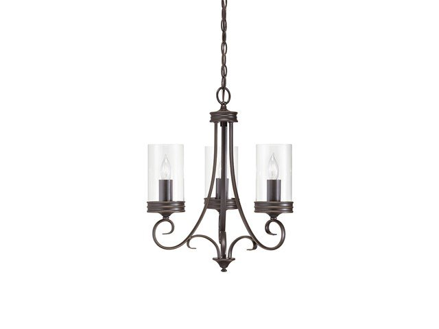 Diana 3 Light Chandelier Olde Bronze®