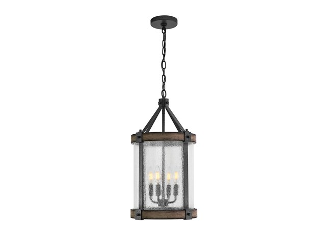 Barrington™ 4 Light Pendant Anvil Iron™