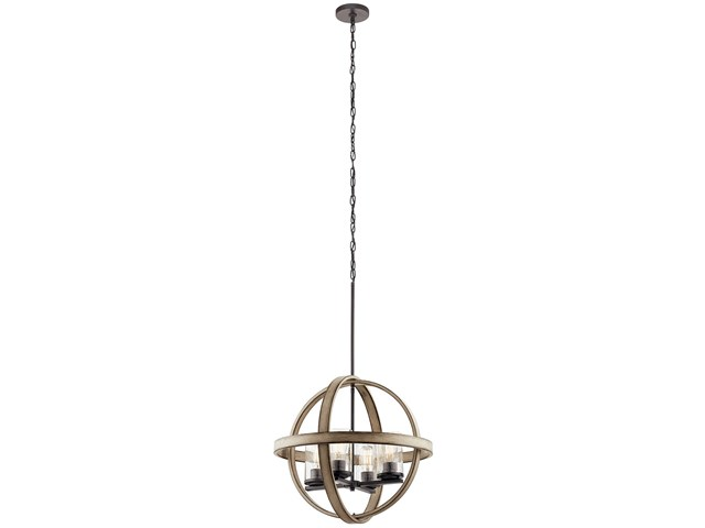 Barrington™ 4 Light Orb Pendant Anvil Iron™